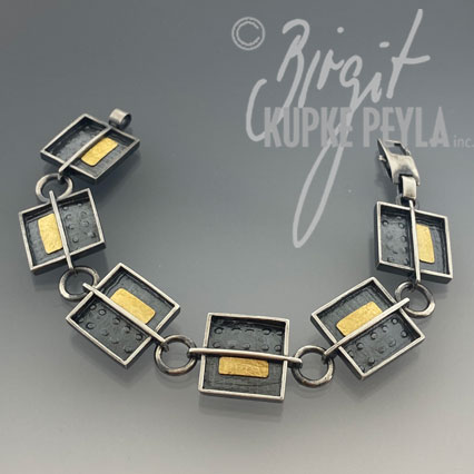 Link Bracelet  - jewelry made by Birgit Kupke-Peyla