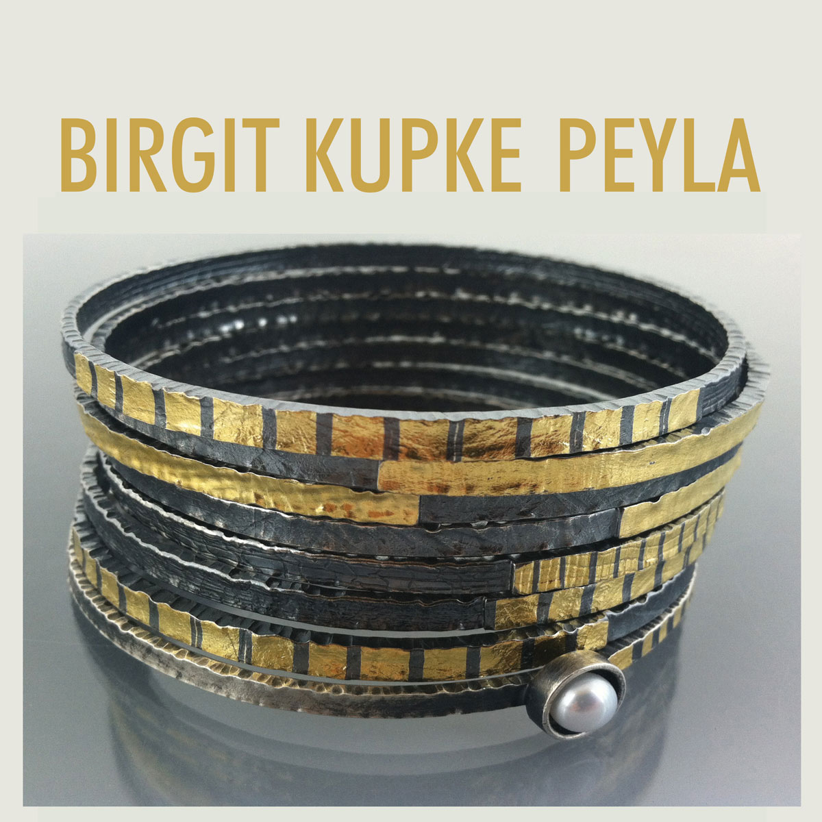 Cover Page for Birgit Kupke-Peyla - Studio Artist and Goldsmith
