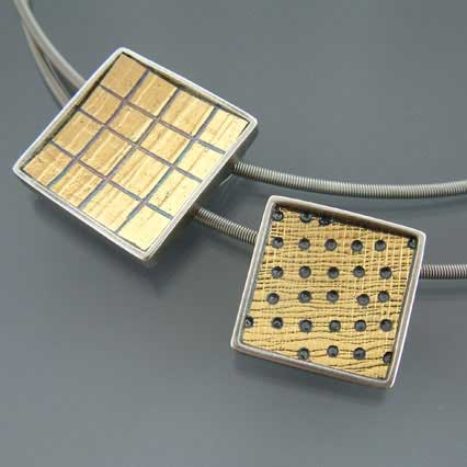 Square pendants
