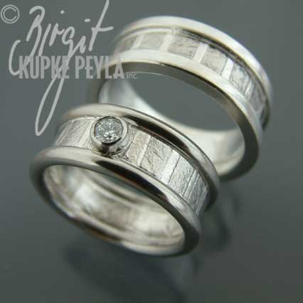 wedding bands - jewelry made by Birgit Kupke-Peyla